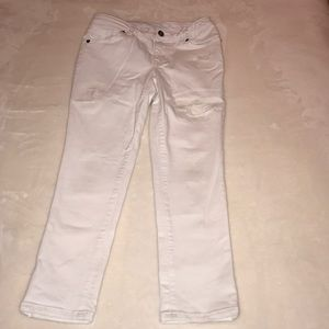 Cat & Jack white distressed jeans (12)